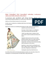 Khadi Work-an uprising art of India