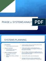 Analysis Phase