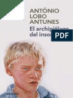 El archipielago del insomnio - Antonio Lobo Antunes.pdf