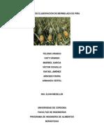 Proceso de Elaboración de Mermelada de Piña (Reparado)