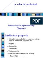 Discovering the value in Intellectual property