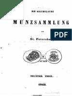 Die Reichelsche Münzsammlung in St. Petersburg. 9. Th.