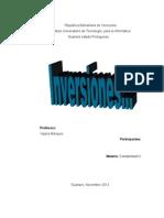 administracion inversiones