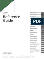 TV Sony Bravia KDL-42W651A_Manual de Instrucciones