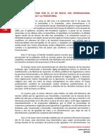 Manifiesto del PSOE por el Día Internacional contra la Homofobia
