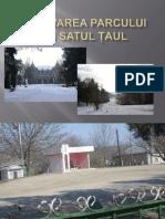 Renovarea Parcului Din Satul Țaul Prima Etapă