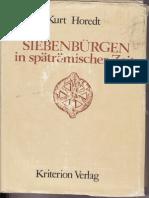 Kurt Horedt _ Siebenburgen in Spatromischer Zeit (Transylvania in Late Roman Time)