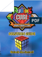 Rubiks Cube 3x3 Solution, the best possible visualization