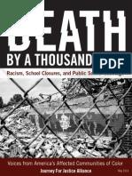 Pub Ed2014- Death by a 100 Cuts