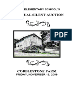 Silent Auction Program 2009 Rev 11-12-09-Web