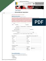Student Mentor_Mentee Application