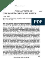 Ethnograpic Aspects of World Capitalism June Nash