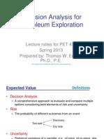 Decision Analysis ForPetroleum Exploration_Thomas W. Engler