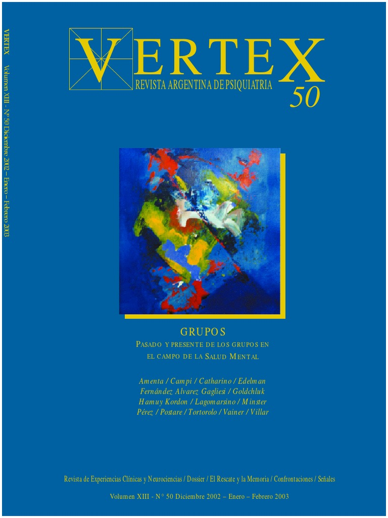 Vertex50. Terapia de Grupo 4e887cd1d6