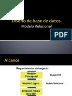 Tema IV Conversion Al Modelo Relacional