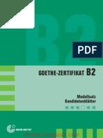B2 - Modellsatz