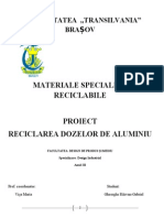 Proiect Materiale Reciclabile