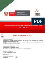 Evaluacion Censal UMC ECE2013 Ccesa2