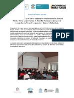 Boletín de Prensa GAI - No 009