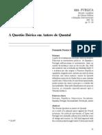 A Questão Ibérica Em Antero de Quental