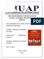 Cuentos Chinos Andres Oppenheimer