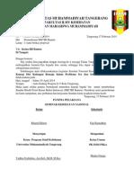 Surat Permohonan SKP IBI