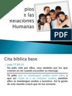Principios Bíblicos de Las Relaciones Humanas