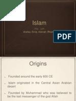 world religions - islam
