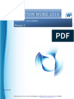 Word 2010 Perfectionnement