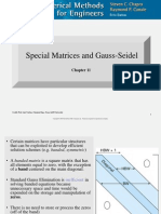 Chap 11 - Special Matrices and Gauss-Seidel (1)