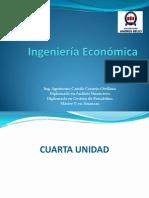 Ingeniería Económica, Cuarta Unidad