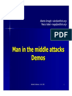 ARP Spoofing ManinthemiddleAttack