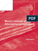 Hudis Peter Marx's Concept of the Alternative to Capitalism PDF