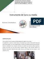 Instrumente de Lucru Cu Media2003 c