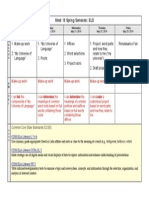 Weekly Agenda Overview ELD