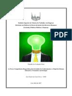 As Novas Competências Requeridas Pela Sociedade Do Conhecimento e o Papel Do Sistema Educativo e Formativo Em Portugal