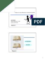 4-Effective Internal Audits