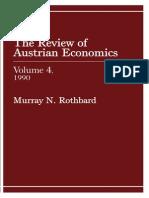 Review of Austrian Economics, Volume 4