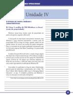 Fundamentos de Sistemas Operacionais Unidade IV