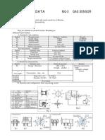 MQ-3 datasheet sensor