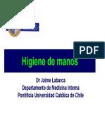 Jaime Labarca Higuienizacion de Manos