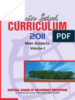 Senior School Curriculum 2011