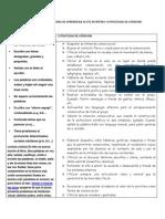 Sintomatologia de Problemas de Aprendizaje Lecto Escritura y Estrategias de Atencion