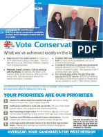 Conservative in Touch West Hendon Ward May 2014