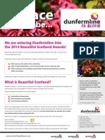 Dunfermline in Bloom 2014