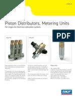 Piston Distributors, Metering Units