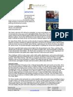 Terrorism Press Release 11 09