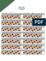 Shift Schedule L - 2009