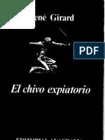 Girard Rene - El Chivo rio