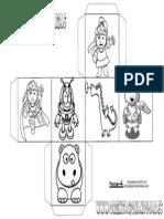 Cubo Para Contar Historias Personajes 1